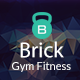 Brick  Fitness PSD Template - ThemeForest Item for Sale
