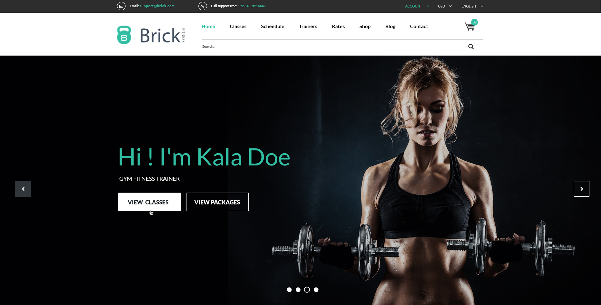 Brick fitness psd template by thejkthemes themeforest brick gym fitness psd template headerg maxwellsz