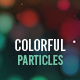 Colorful Particle Backgrounds - GraphicRiver Item for Sale