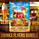 Drinks Flyers Bundle - GraphicRiver Item for Sale