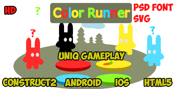 Color Endless Runner - CodeCanyon Item for Sale