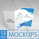 12 Trifold Brochure Mockup - GraphicRiver Item for Sale
