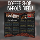 Coffee Shop Bifold Menu
