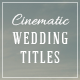 Download Wedding Titles from VideHive