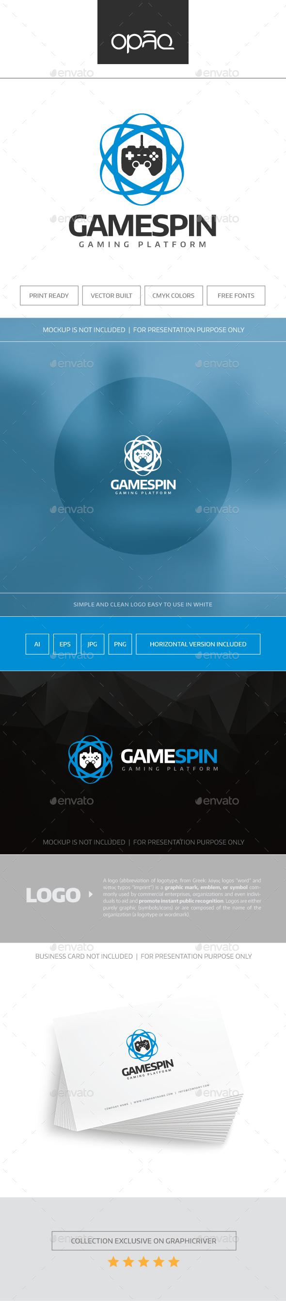 Game Spin Logo