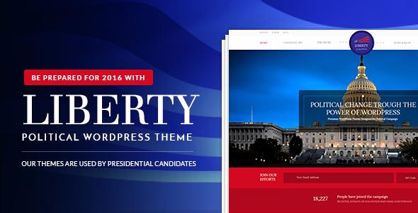Liberty – Your Political WordPress Theme