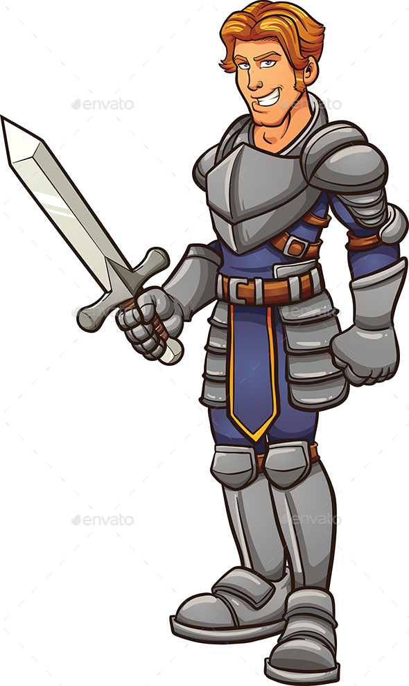 Cartoon Knight By Memoangeles Graphicriver