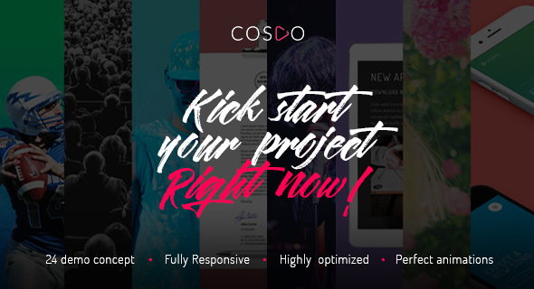 Cospo — Creative Multi-purpose HTML Template - Creative Site Templates