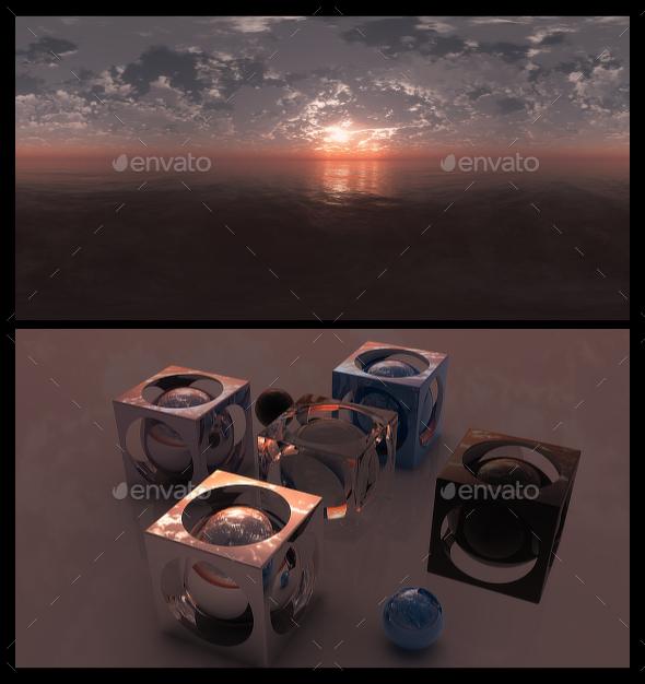 Red Dawn - HDRI - 3DOcean Item for Sale