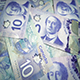 Canadian Ten Dollar Banknotes Rotating - VideoHive Item for Sale