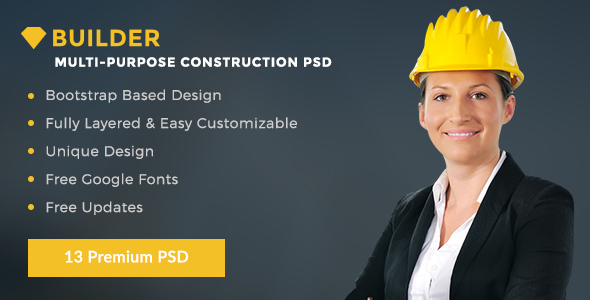 Builder Multi Purpose Construction PSD