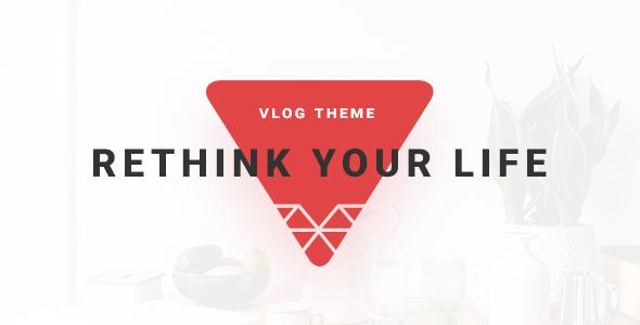 VSVlog - Elegant Vlog / Blog Theme