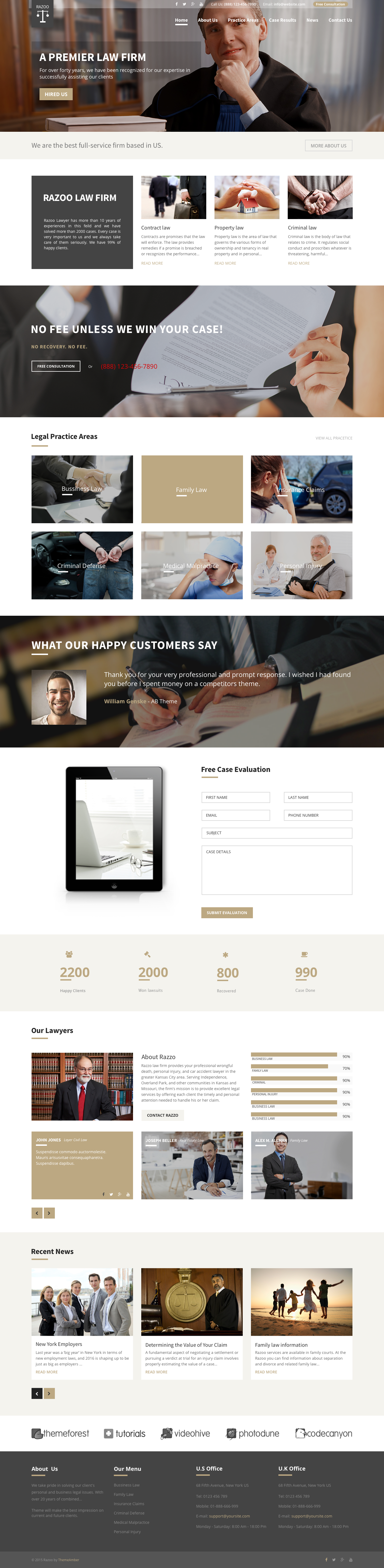 Trust - Lawyer & Attorney Business Sketch Template by ThemeAmber ...