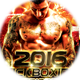 KickBoxing Championships Sports Flyer