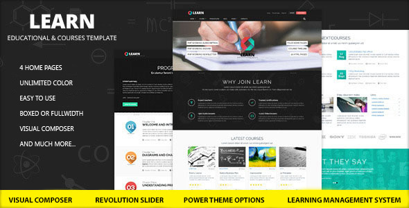 Learn - Education, eLearning WordPress Theme - Education WordPress