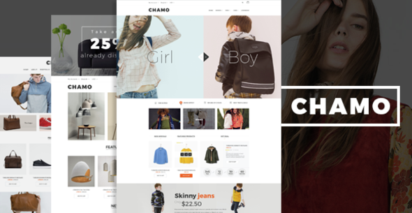Chamo- eCommerce Bootstrap Template - Fashion Retail