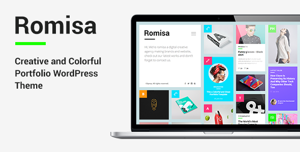 Romisa – Portfolio / Showcase WordPress Theme
