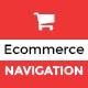 SHOP MENU - e-Commerce Bootstrap mega menu PSD Template - GraphicRiver Item for Sale