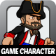 Pirates Character Sprites - GraphicRiver Item for Sale