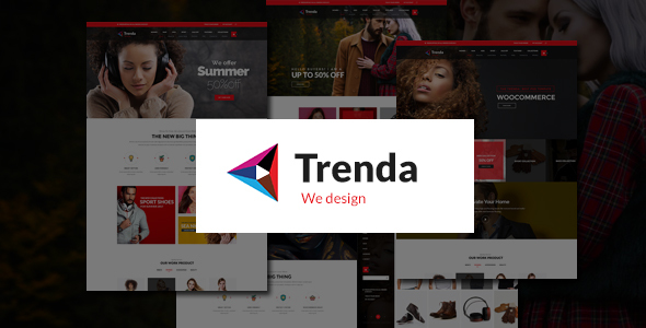 Trenda - Multi Concept eCommerce PSD Template - Shopping Retail