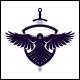 Sword Crow Logo Template - GraphicRiver Item for Sale