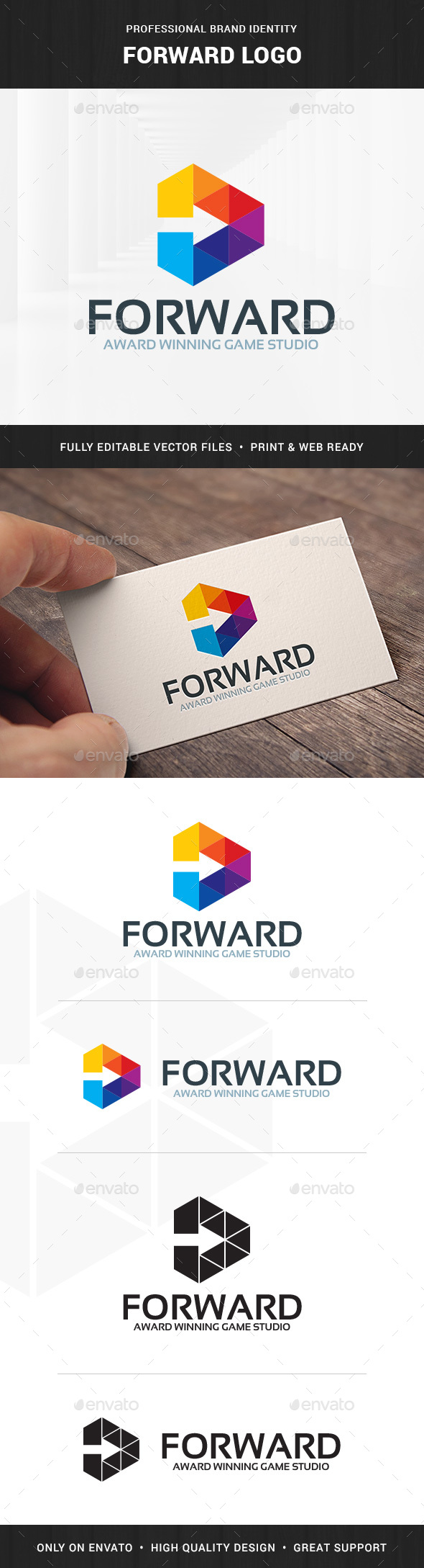 Forward Logo Template - Symbols Logo Templates