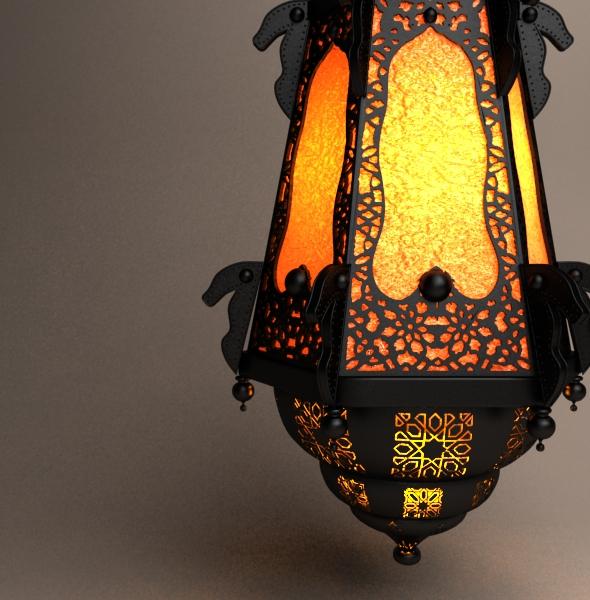 Ramadan Lantern 4 By Sloma3d 3docean