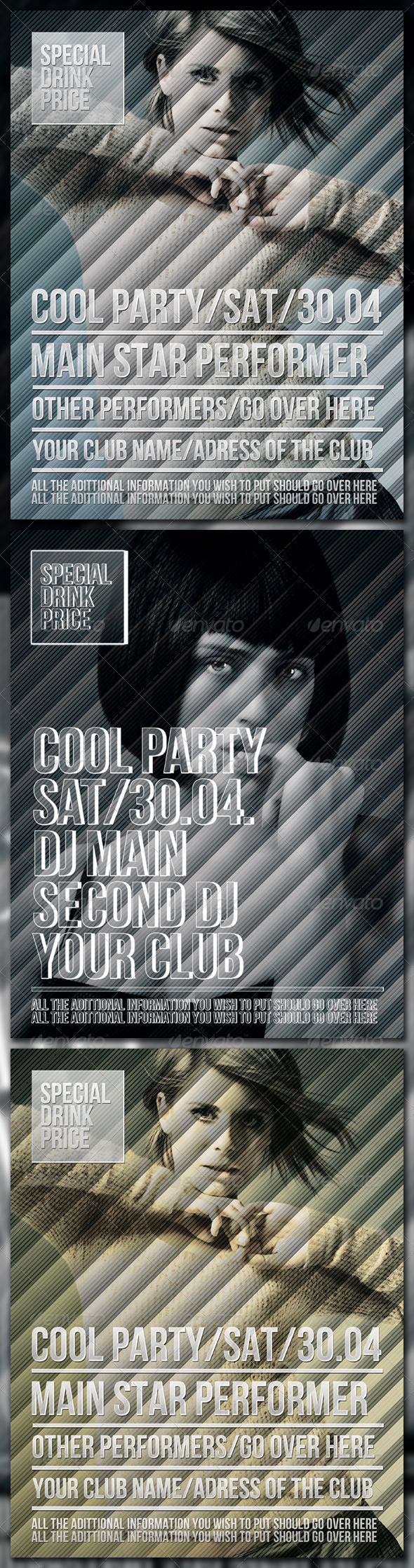 Cool Party Poster - Clubs & Parties Events