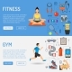 Fitness and Gym Banners - GraphicRiver Item for Sale