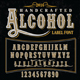 Handcrafted Alcohol Label Font - GraphicRiver Item for Sale