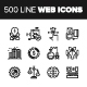 Line Web Icons. - GraphicRiver Item for Sale