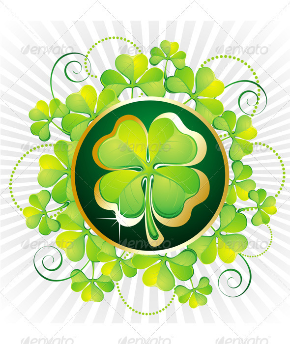 St. Patrick`s Day card - Seasons/Holidays Conceptual