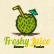 Freshy Juice Logo - GraphicRiver Item for Sale