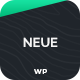 Neue - App Landing Page WordPress Theme Nulled