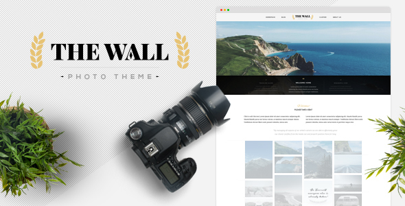 The Wall - Photography WordPress Theme - Photography Creative
