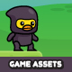 Ninja Duck Game Assets - GraphicRiver Item for Sale
