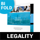 Legality Bifold / Halffold Brochure 2 - GraphicRiver Item for Sale