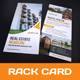 Rack Card DL Flyer Design - GraphicRiver Item for Sale