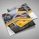 Square Real Estate Trifold Brochure
