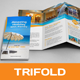 Holiday Travel Trifold Brochure - GraphicRiver Item for Sale