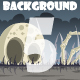 5 Bone Land Game Backgrounds - GraphicRiver Item for Sale