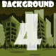 4 Ruined City Game Backgrounds - GraphicRiver Item for Sale