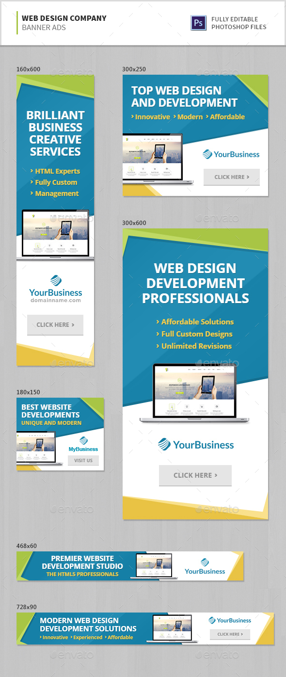 Design for banner ads - Web Design Company Banner Ads Banners Ads Web Elements