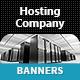 Web Hosting Company Banner Ads - GraphicRiver Item for Sale