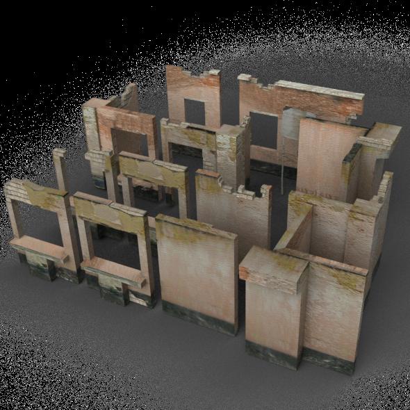 Modular Ruins - 3DOcean Item for Sale