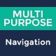 Multipurpose Navigation Menu Bar PSD - GraphicRiver Item for Sale