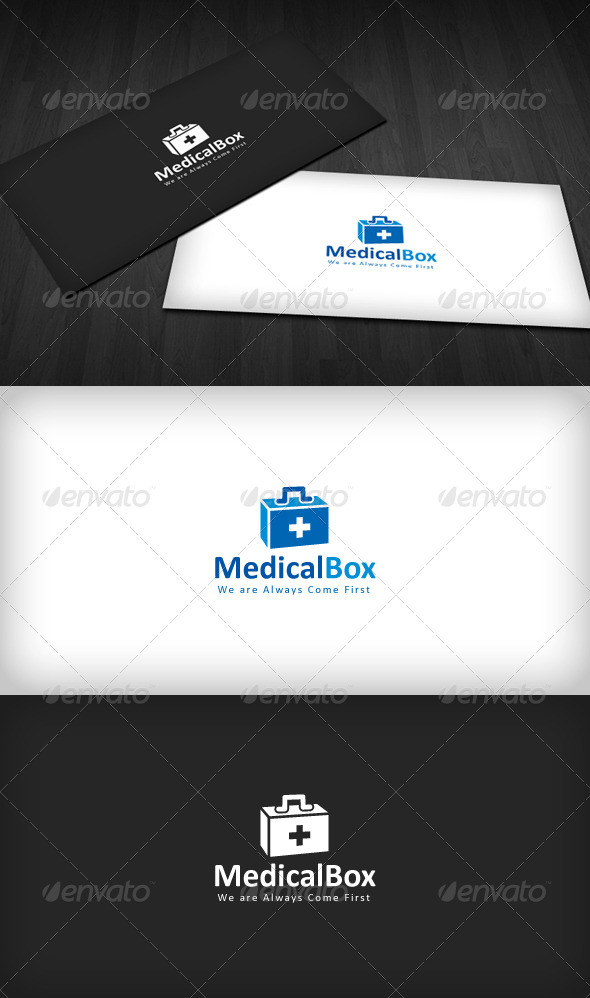 Medical Box Logo - Symbols Logo Templates