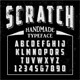 Handmade Typeface Scratch - GraphicRiver Item for Sale