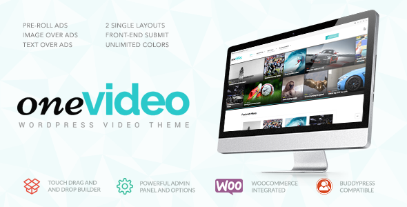 OneVideo – Video Community & Media WordPress Theme