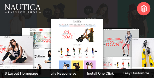 TV Nautica – Responsive  Magento Fashion Theme